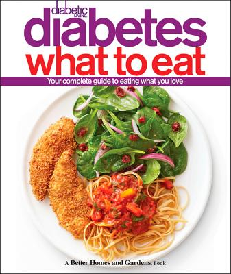 Diabetic Living Diabetes What to Eat By Better Homes and Gardens Books (COR)